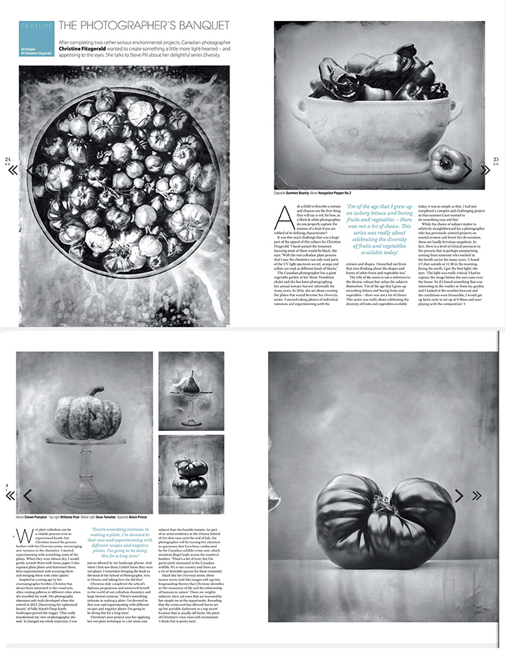 Black+White Photography Magazine, UK, June 2018 issue.