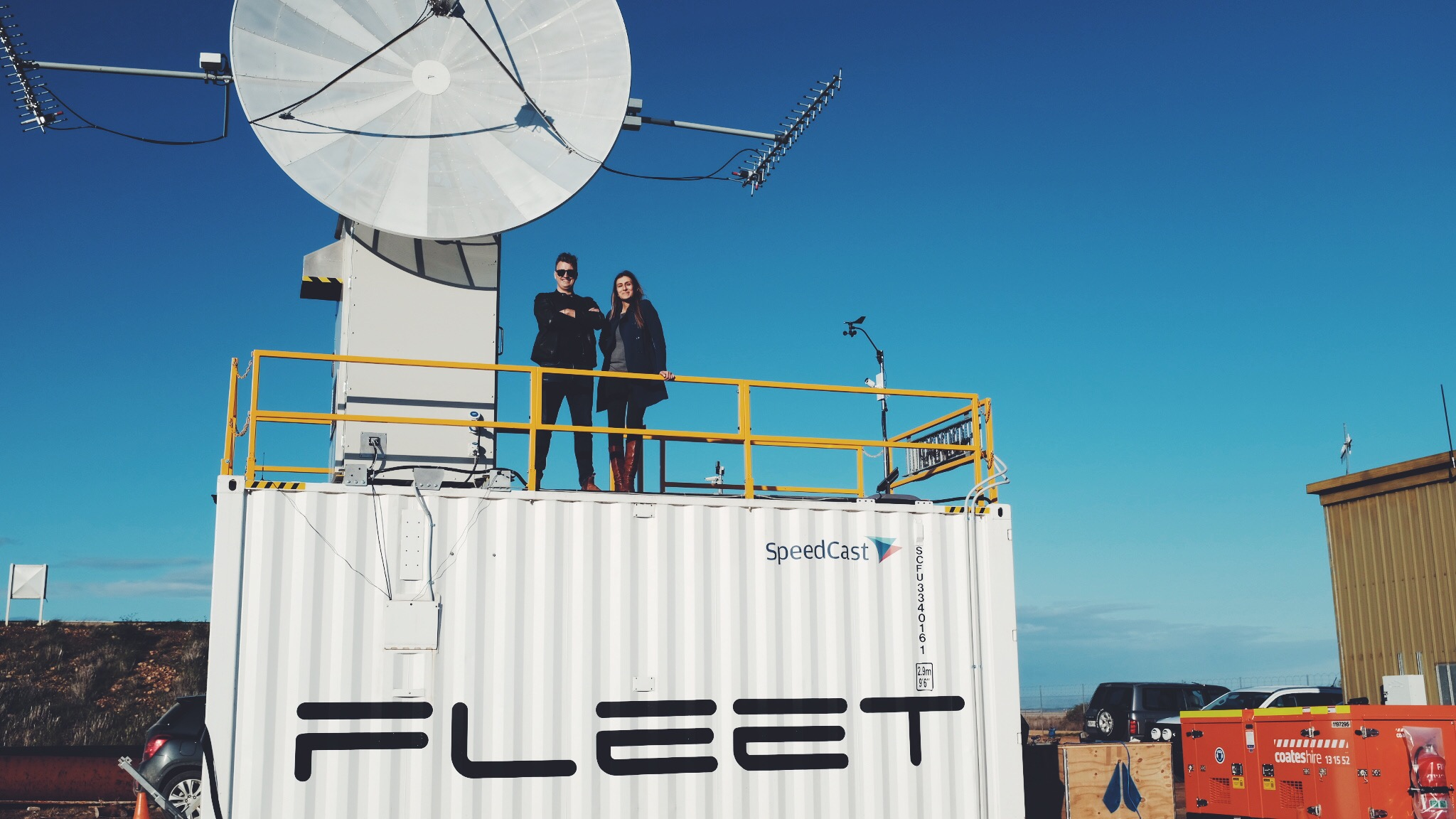 Fleet Founders opening the Red Banks Ground Station