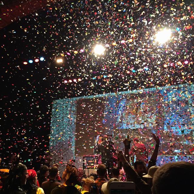 Confetti Blasters fired for presentation of award - Blaso Pyrotechnics, Melbourne Australia