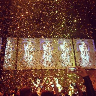 Confetti Blasters at JPG Exhibition Opening at National Gallery of Victoria - Blaso Pyrotechnics, Melbourne, Australia