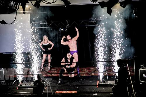 Indoor Fireworks Silver Fountains for Wrestlers Entrance MCW - Blaso Pyrotechnics, Melbourne, Australia