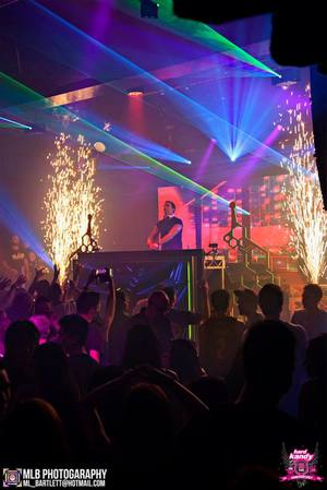 Copy of Indoor Fireworks during DJ Set - Blaso Pyrotechnics, Melbourne, Australia