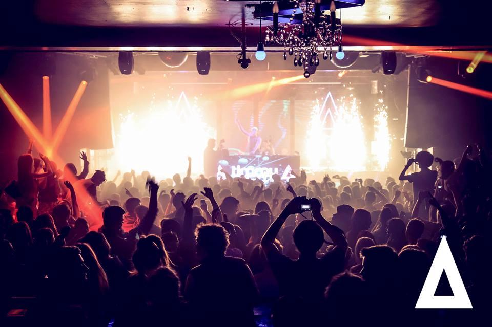 Indoor Fireworks during DJ Set - Blaso Pyrotechnics, Melbourne, Australia