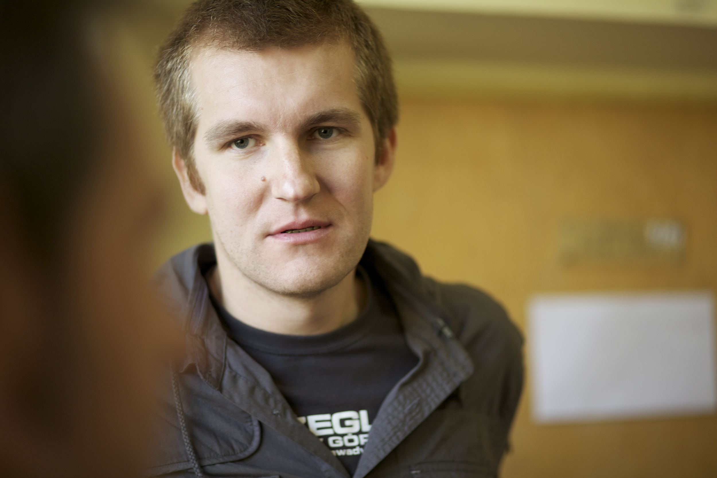 "Pawel wysoczanski , director of the film ""jurek"" screened at apff 2015"