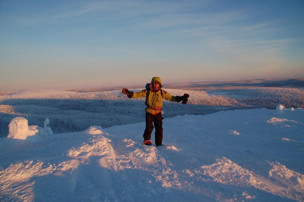 Schneeschuh Lappland