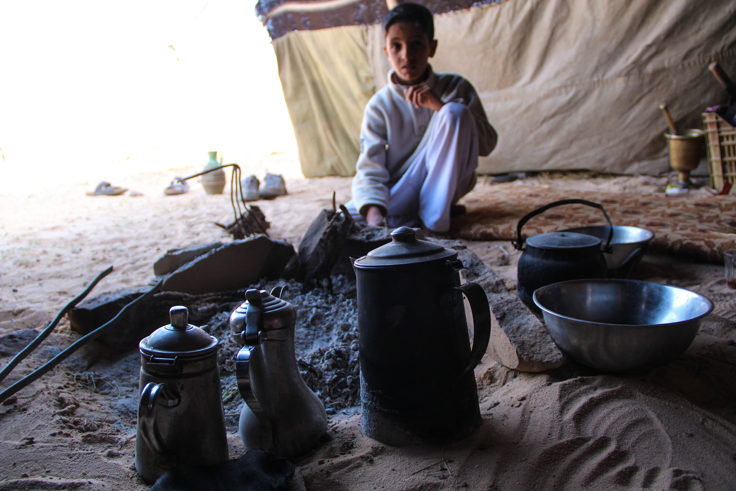 10-year-old Wadi Rum resident Abdullah Zalabi. More on tourism's impact on Jordan's Bedouin population  here .