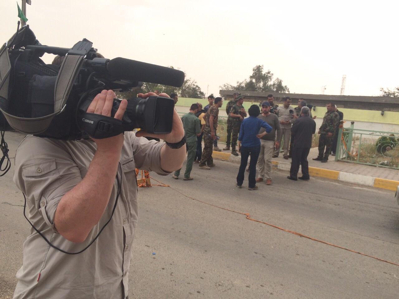 Kev in Iraq