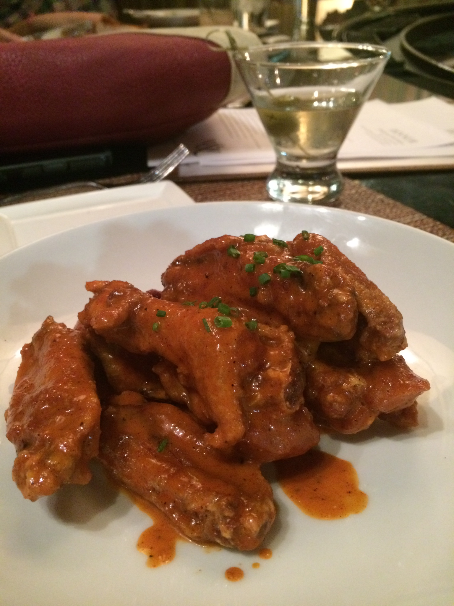Créme Fraiche Wings from Water & Wall.