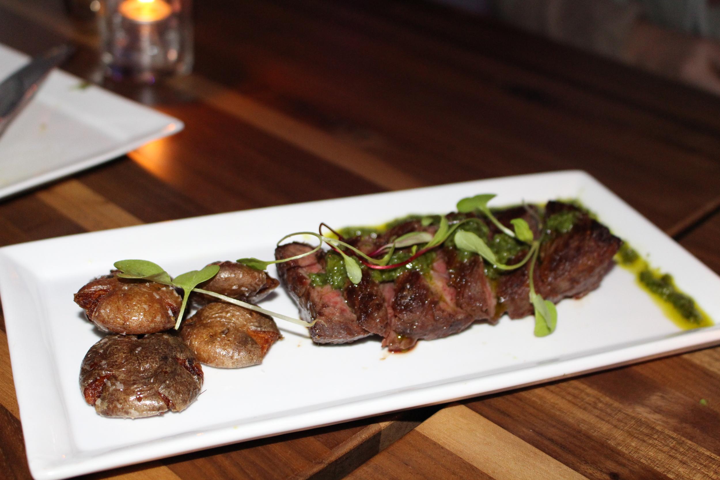 Steak Frites with Chimichurri