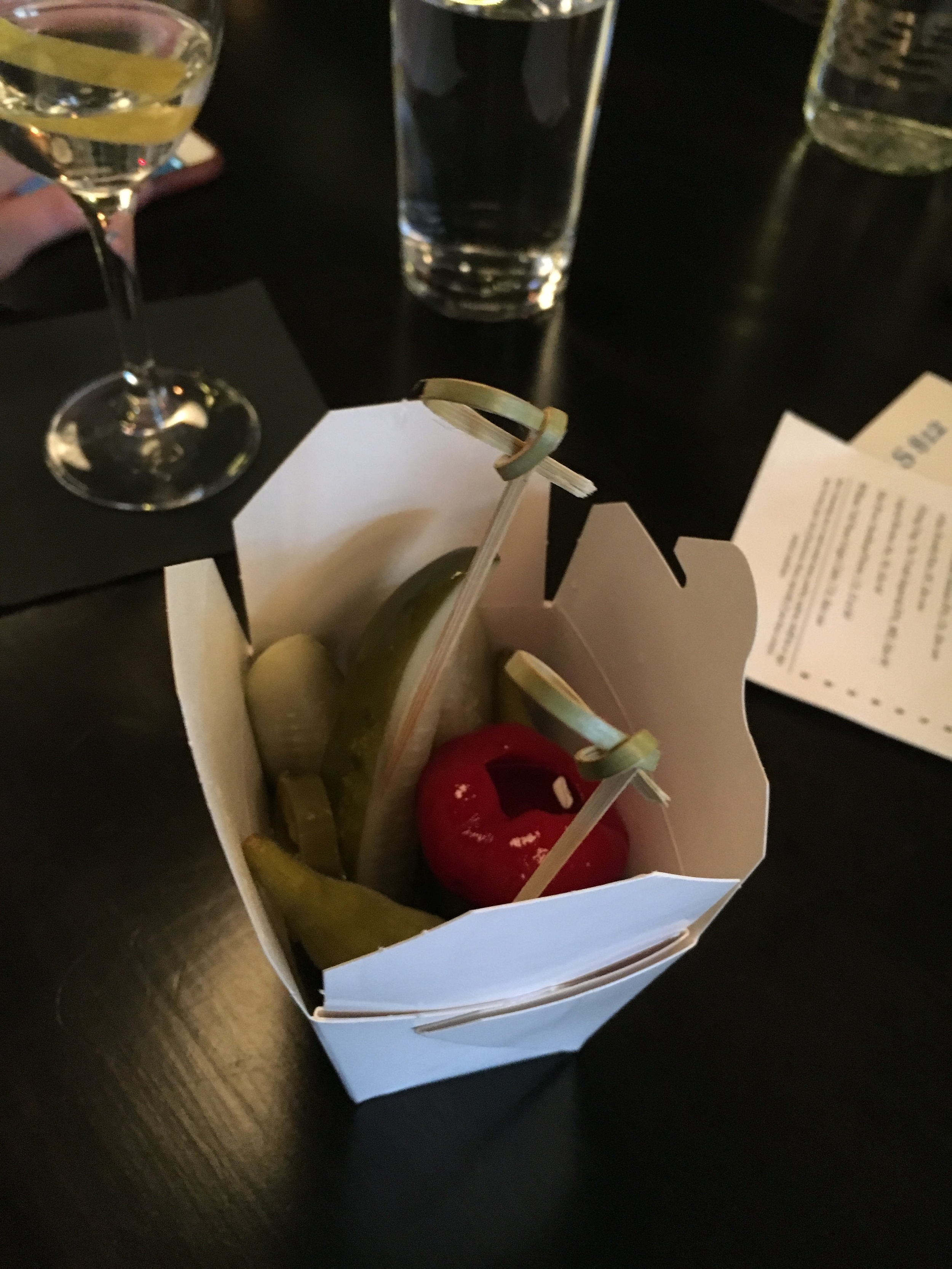 Pickled things.