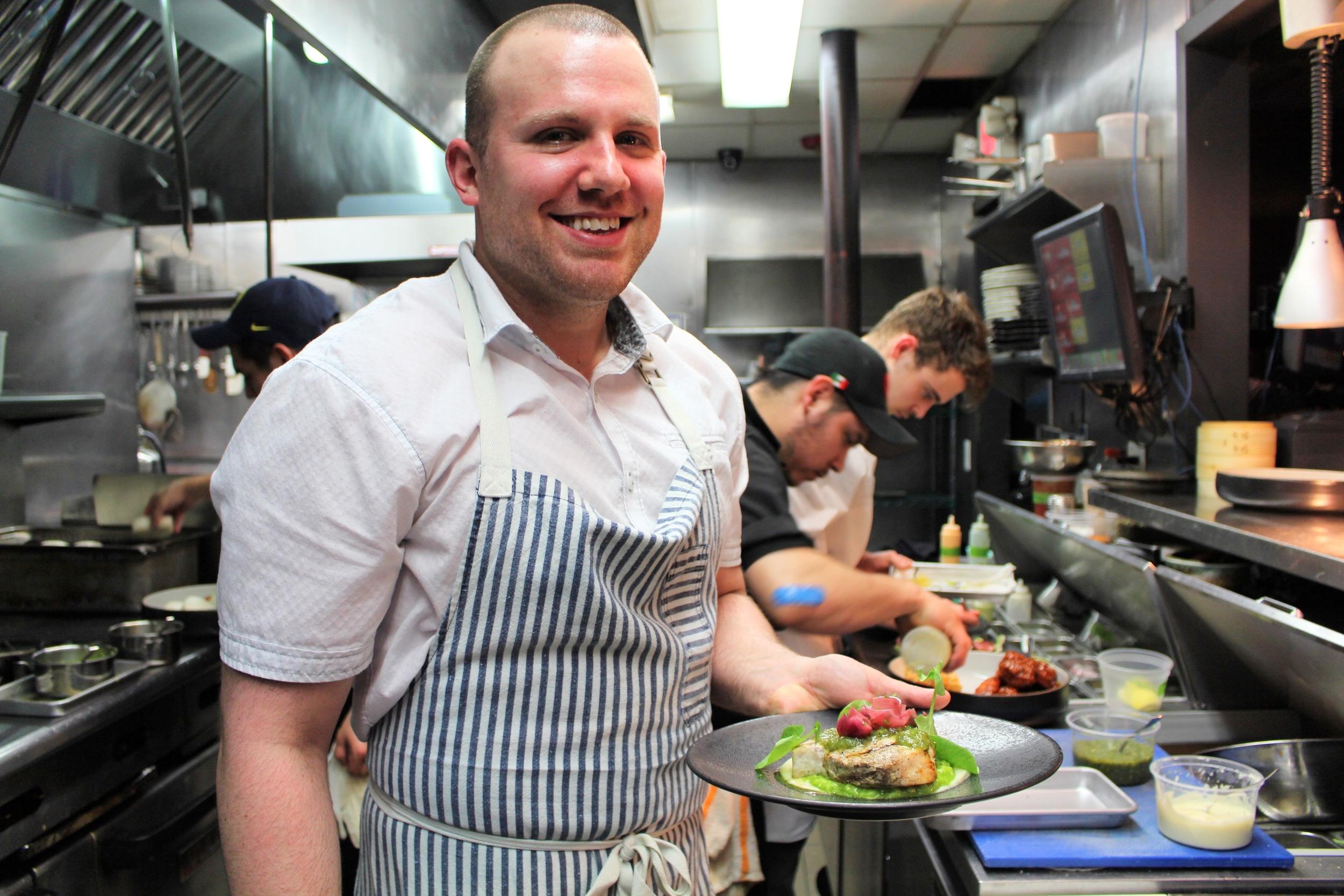 The man, the myth, the legend - Chef Ryan Ratino.