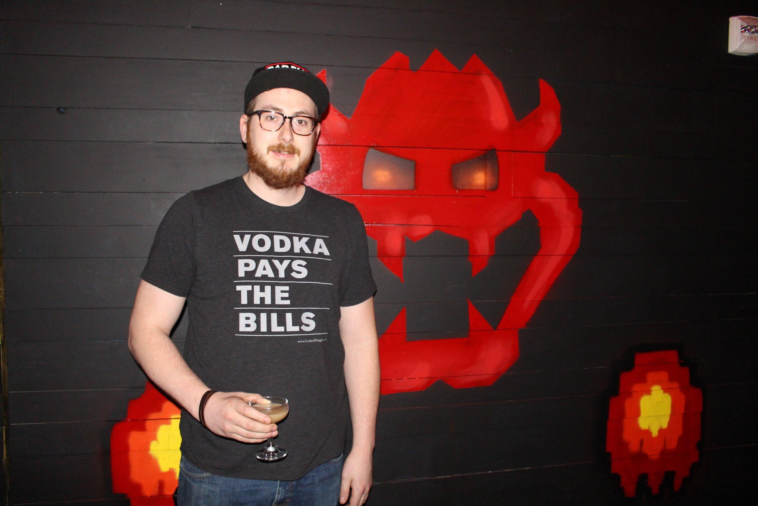 Paul Taylor, Senior Bar Manager.