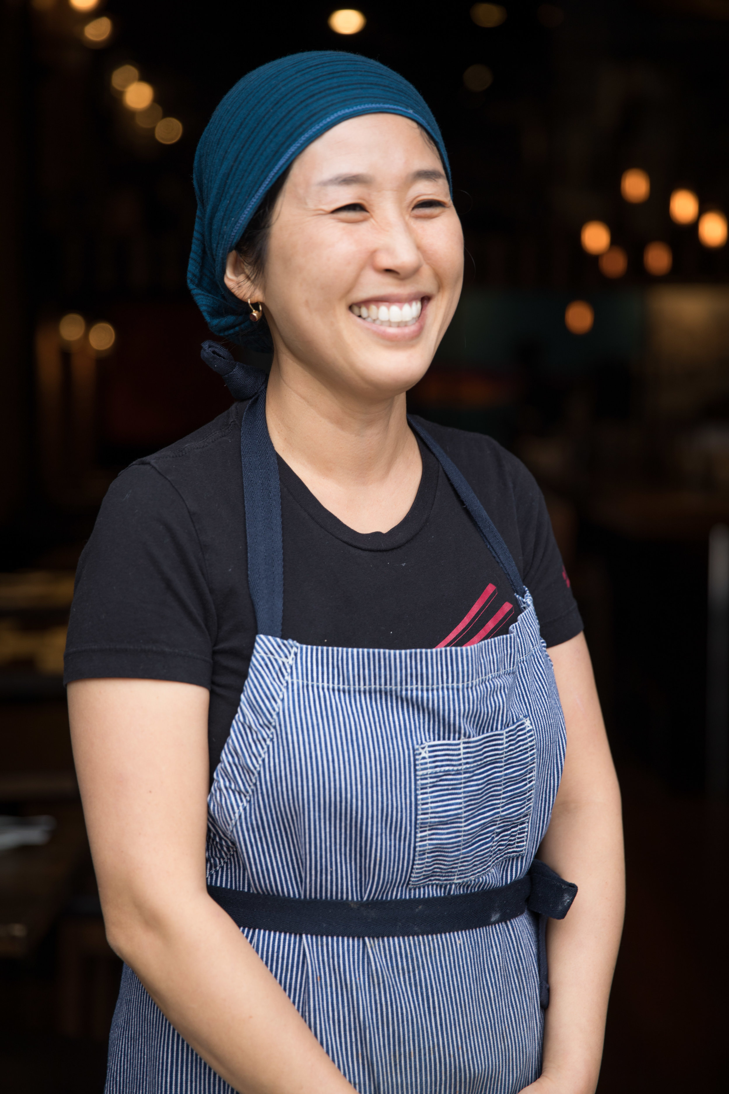 Chef MyungEun Cho. Photo courtesy of  Andrew Sherman.