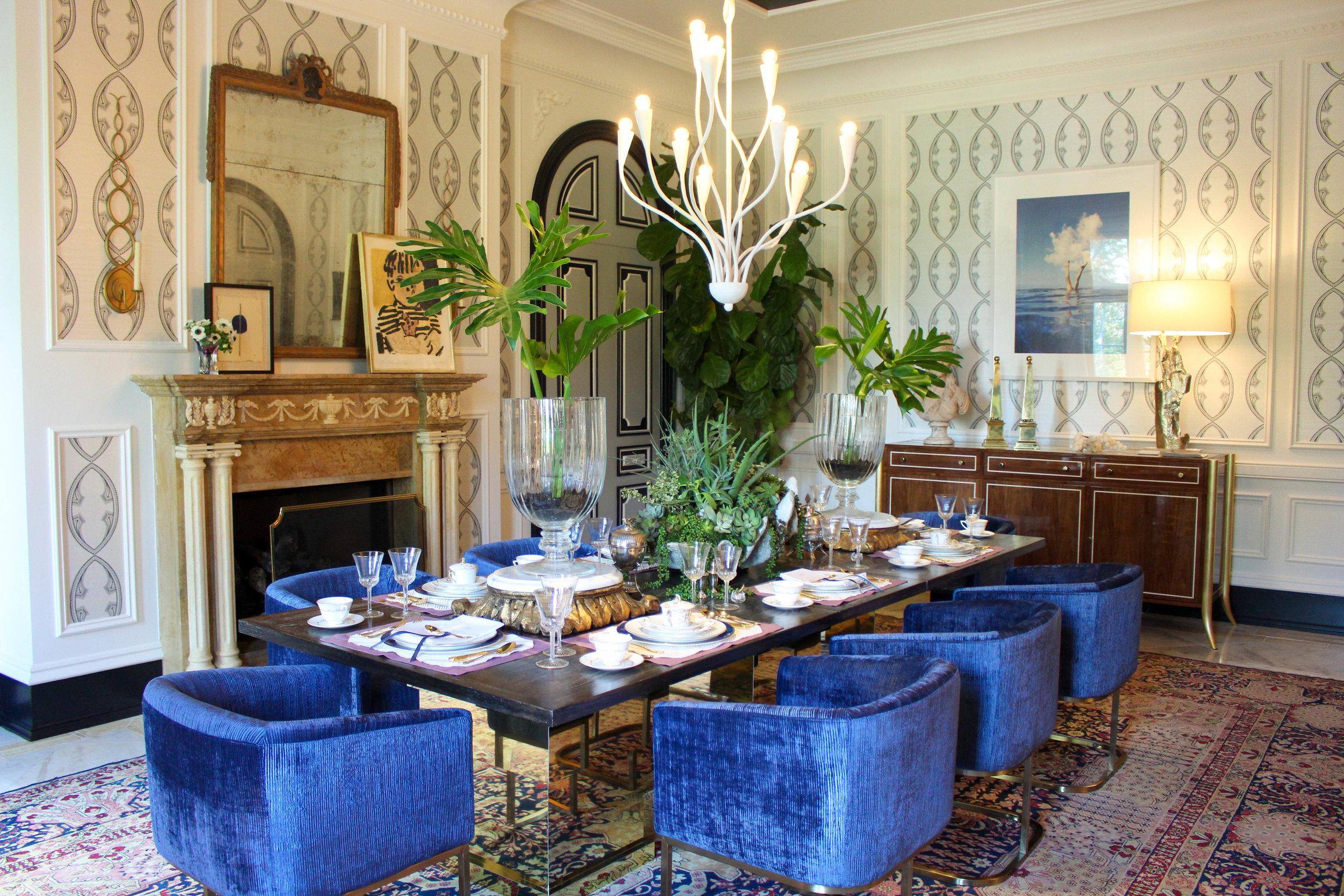 Susan Jamieson /  Bridget Beari Designs  / DINING ROOM