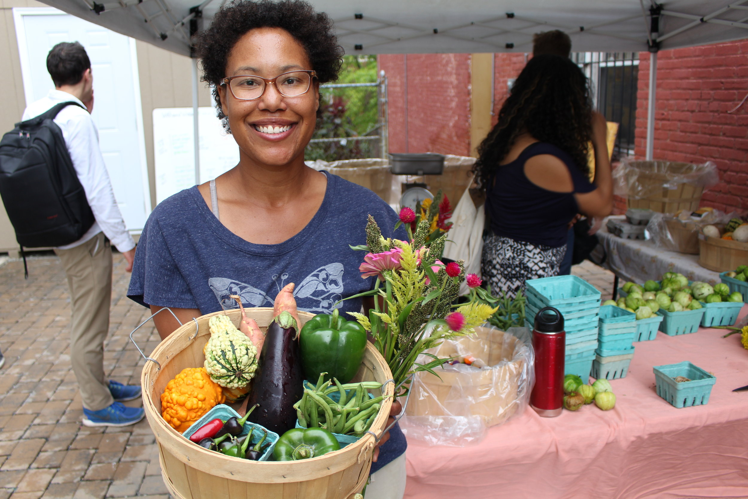 Gail Taylor started the trend for urban farming in DC.