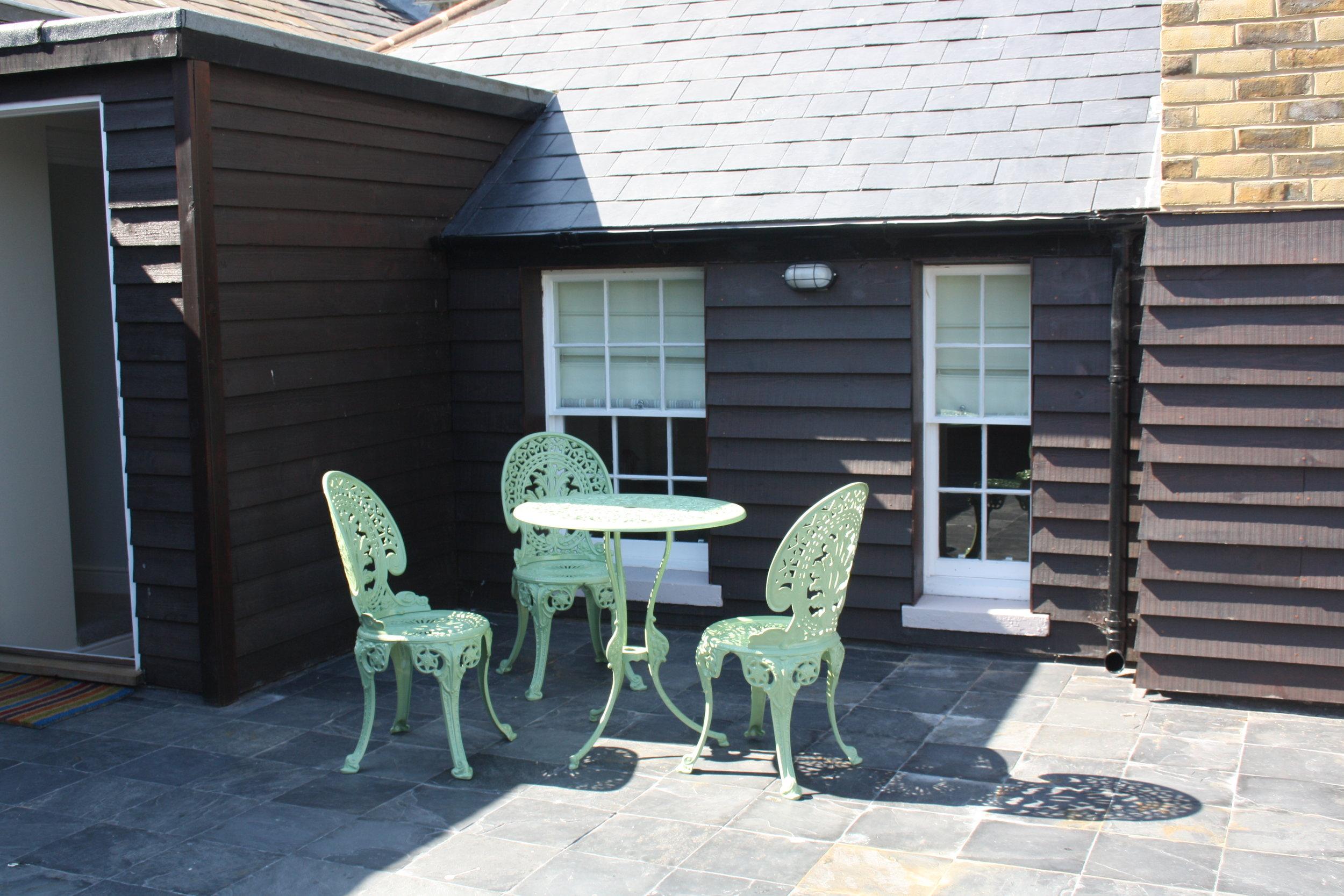 Roof Garden - Addington Street Apartment