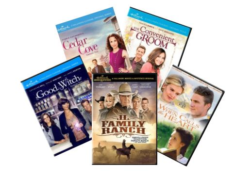 Group of DVD Videos.JPG