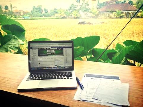 co-working rural nómada digital