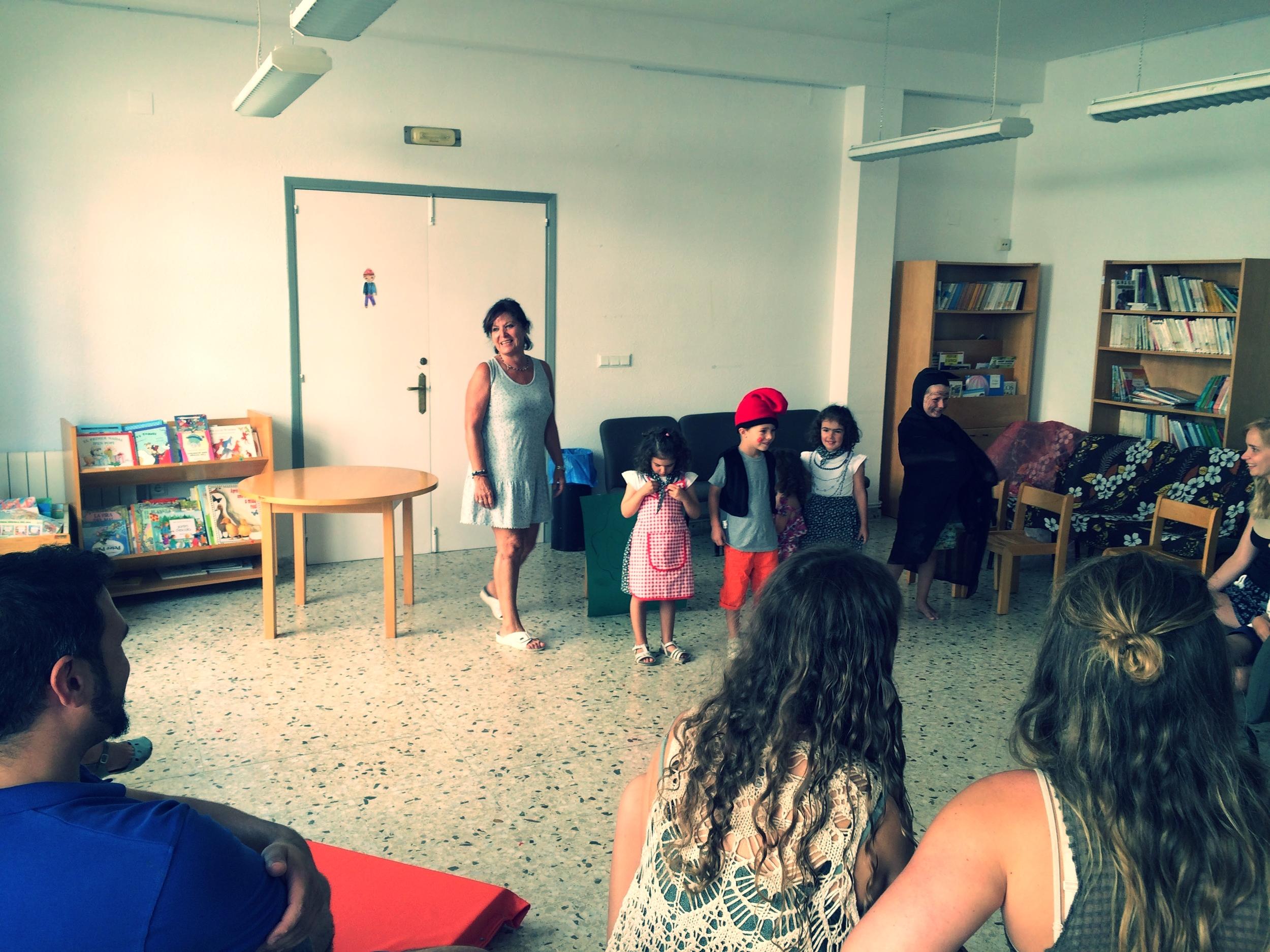 Psicomotricidad, expresión corporal y psicoteatro para niños y niñas