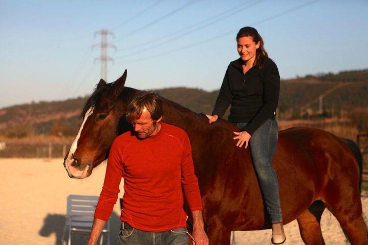 Sesión de coaching emocional con caballos  Sábado 23 enero por la mañana  (Actividad opcional y no incluida en el precio base)