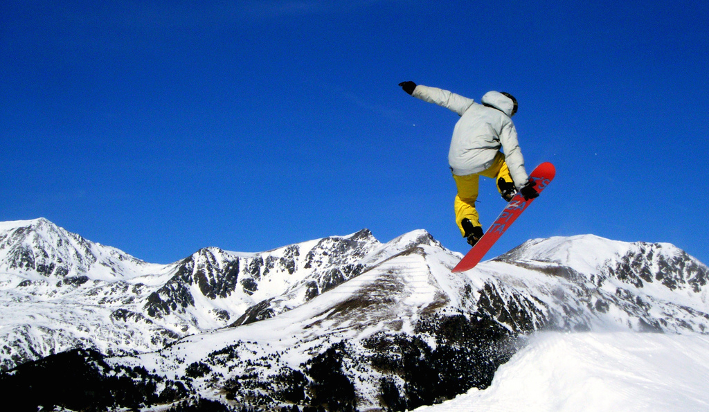 Optional day skiing or snowboarding in Vall Nord Slopes (friday jan 8th)