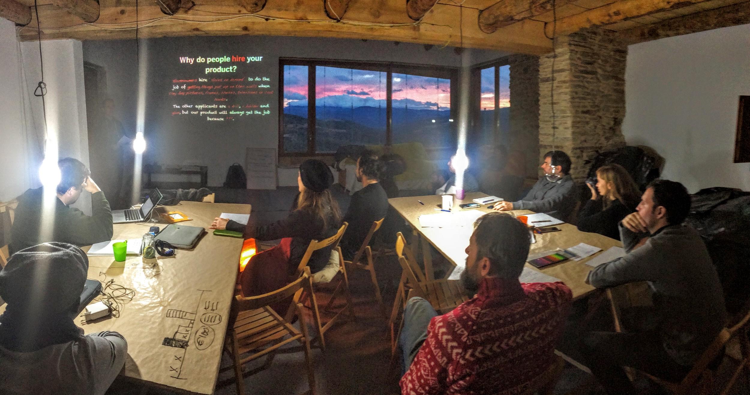 lean startup pandorahub cathar weekend I.JPG