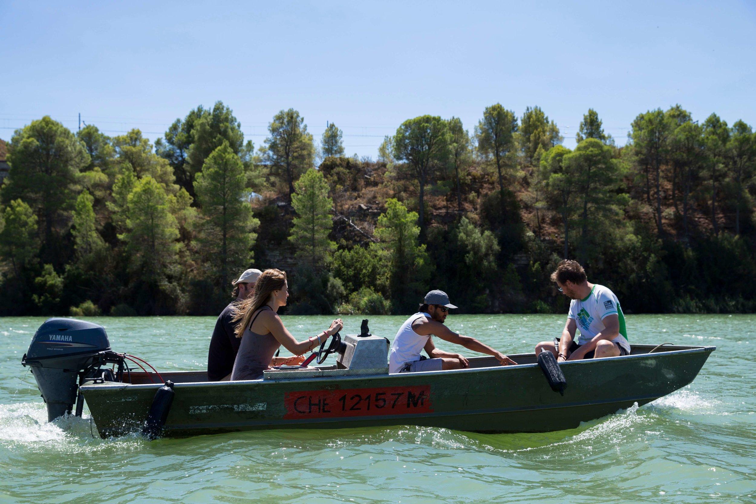 boat to matarraña afarirural coliving s