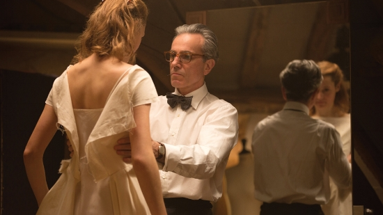 "Daniel Day-Lewis and Vicky Krieps, ""Phantom Thread"""