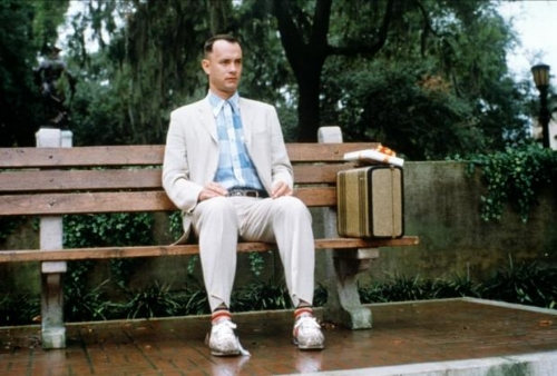 Thanks for the story, Forrest, but I was really just waiting for my bus ...