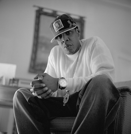 Jay-Z politely suggests you caress the filth off of your shoulder.