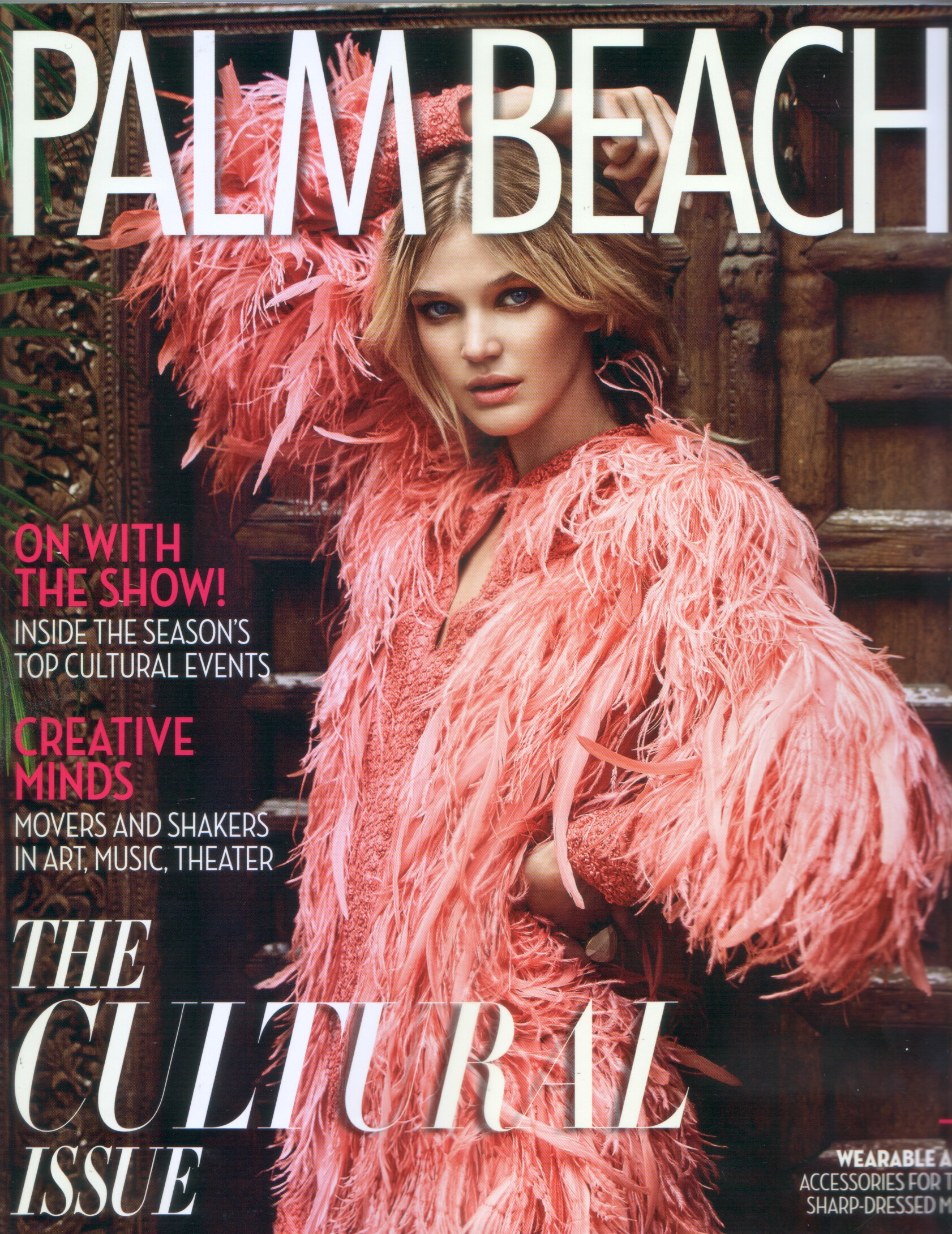 Palm Beach Illustrated featured a few of Helga's favorite things.
