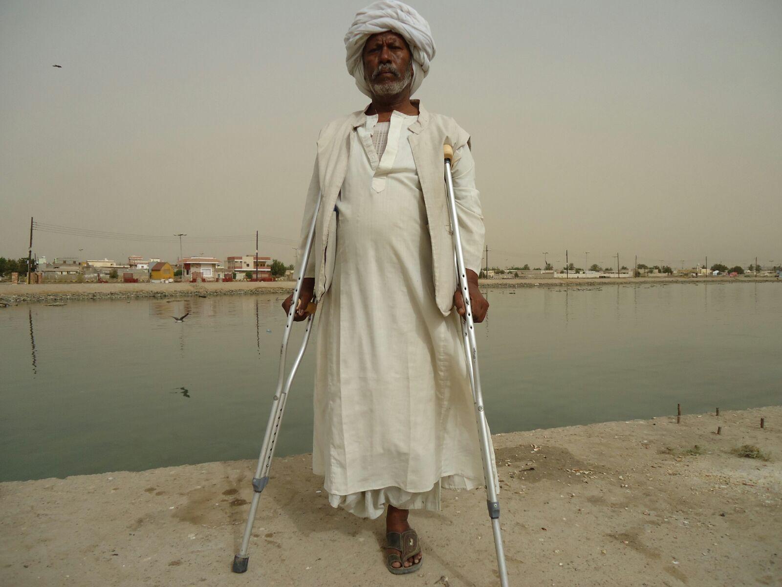 Fisherman 51 years old SOS Sahel Suakin Town, Red Sea State