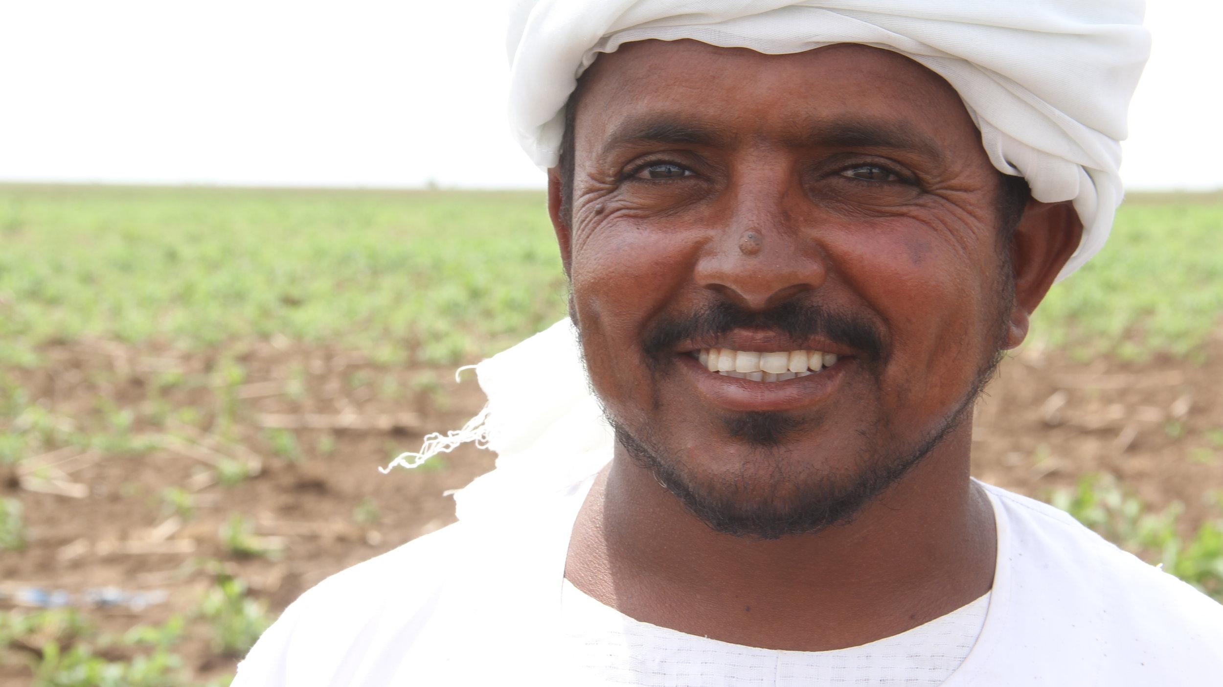 Farmer 35 years old WHH Al Alim village, Wad Elhilew, Kassala State