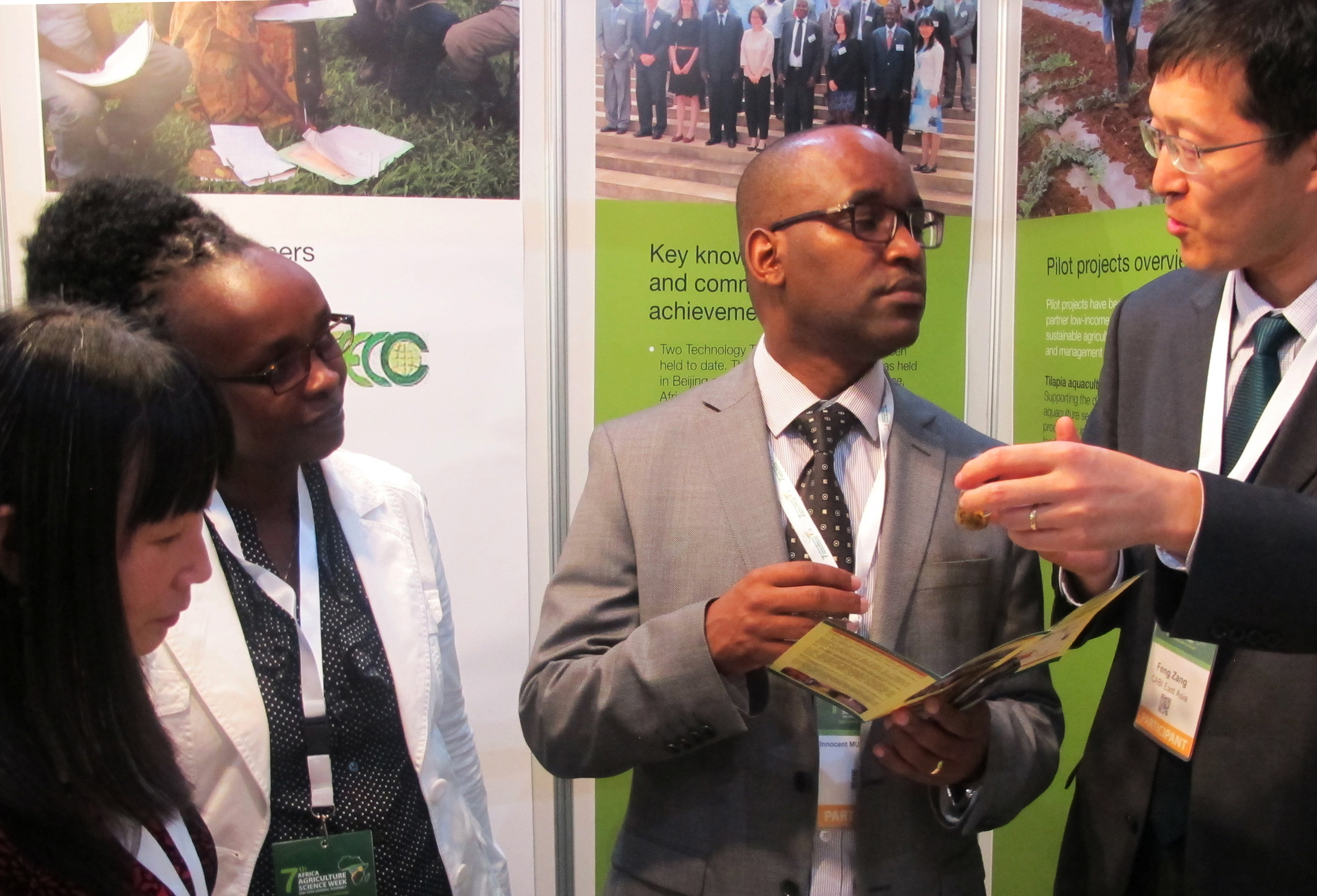 AgriTT appears at Africa Agriculture Science Week in Kigali