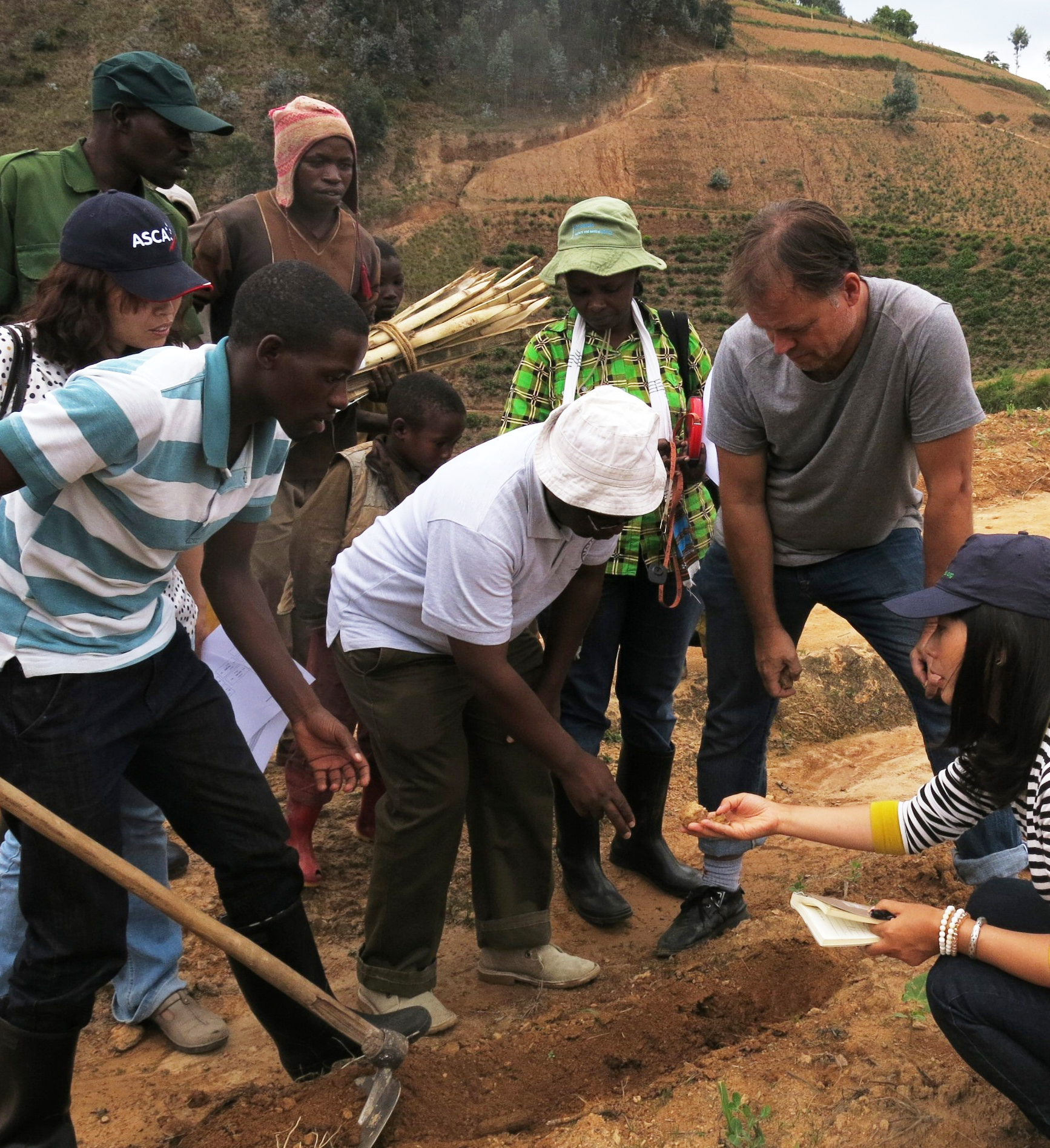 A Research Challenge Fund Project led by CABI in Rwanda