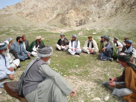 A Water user association meeting