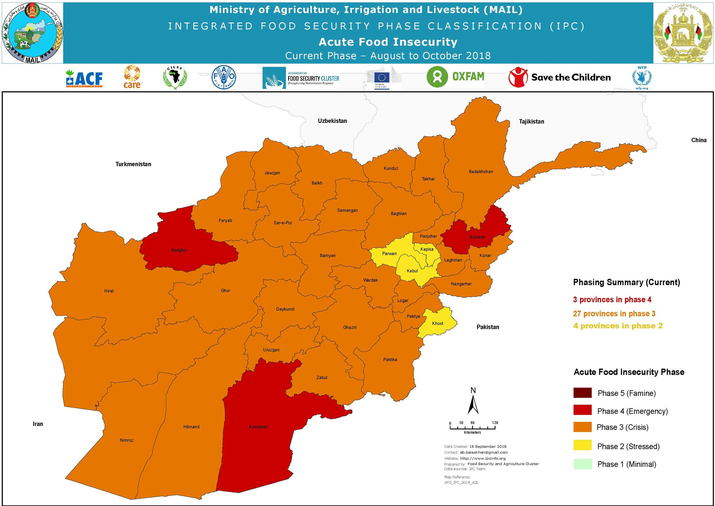 IPC Acute food insecurity 2018