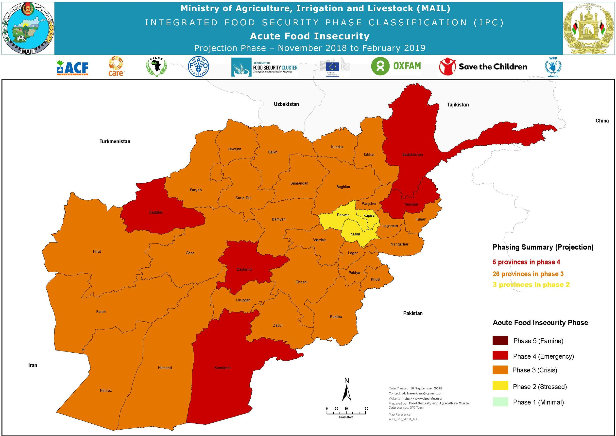 IPC Acute food insecurity 2019