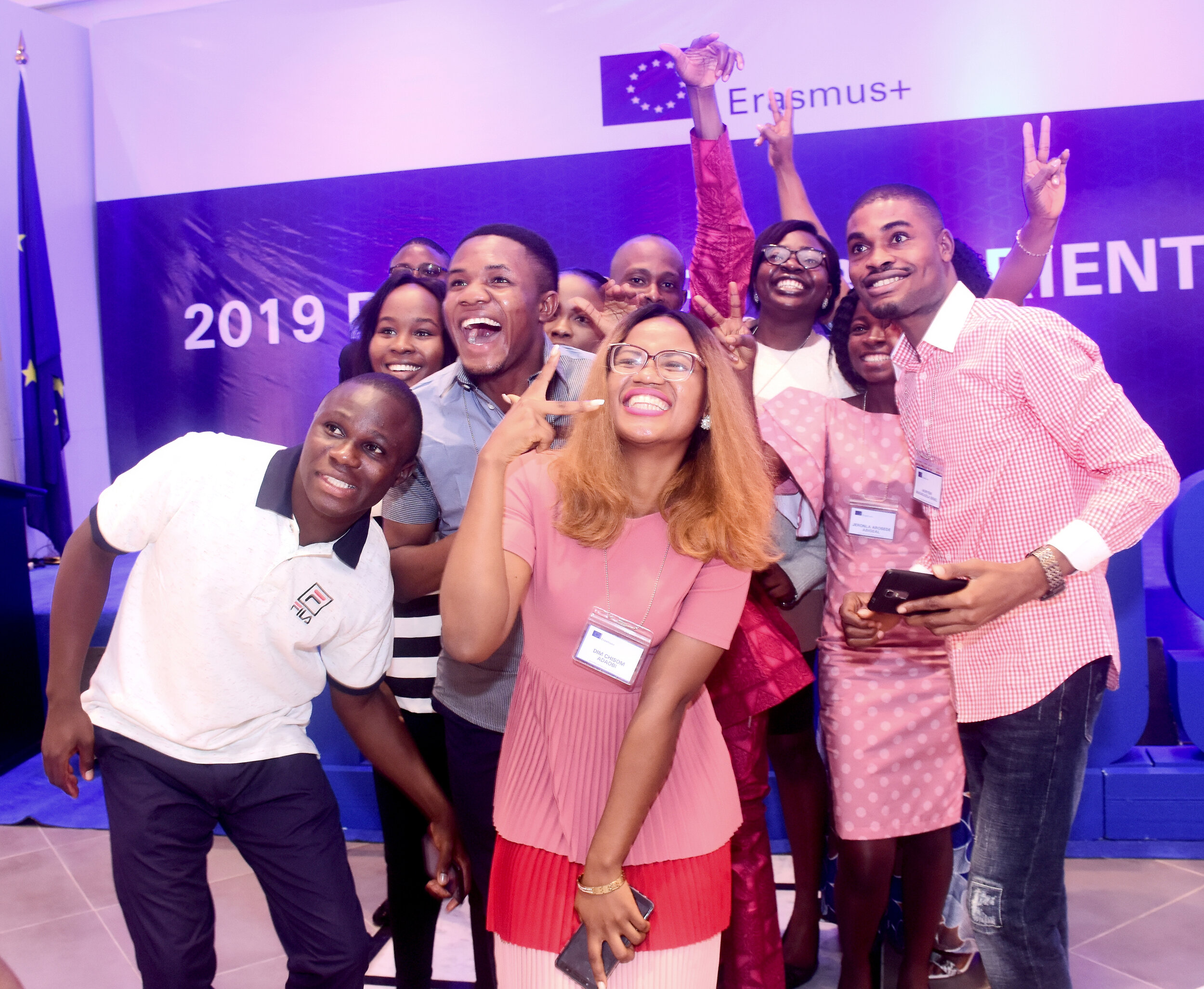 Erasmus+ Scholarship awardees at the Erasmus+ Pre-departure Orientation