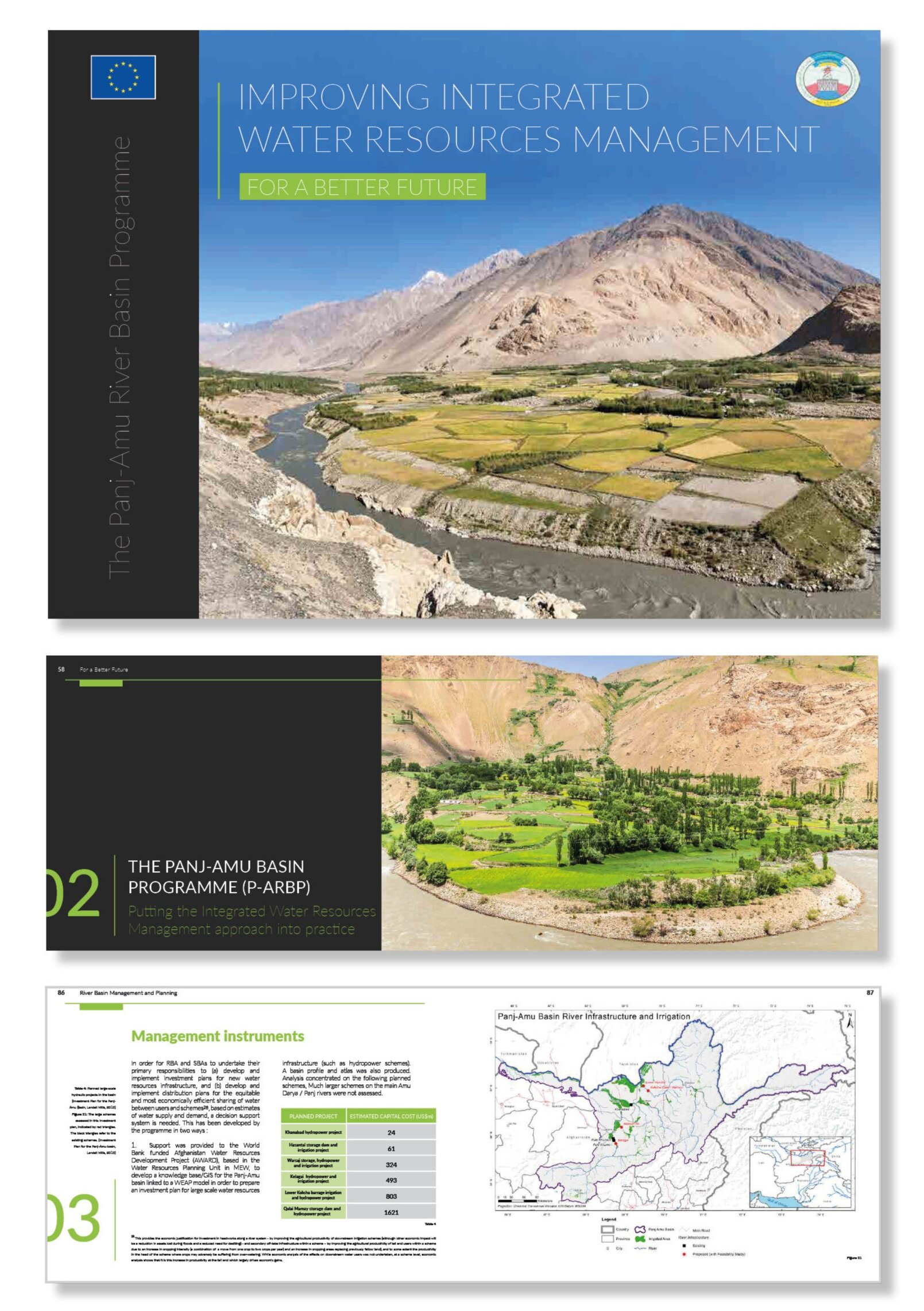 Pages from  The Panj-Amu River Basin Programme: Improving Integrated Water Resources Management – For a Better Future