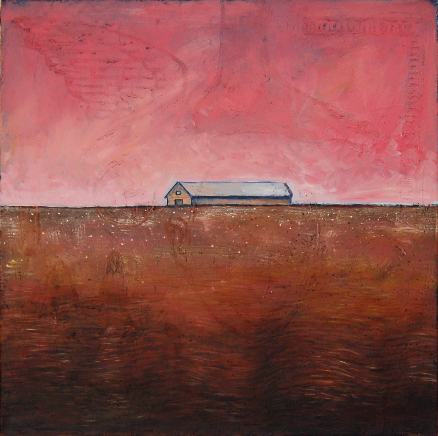 Lone House (Pink Sky) 2009