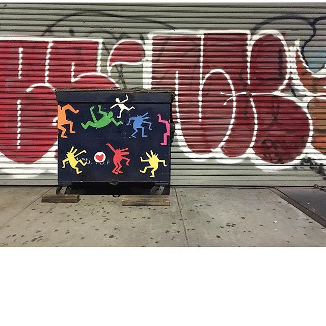 Keith #streetart #aboutlastnight #trash #latergram #eastvillage