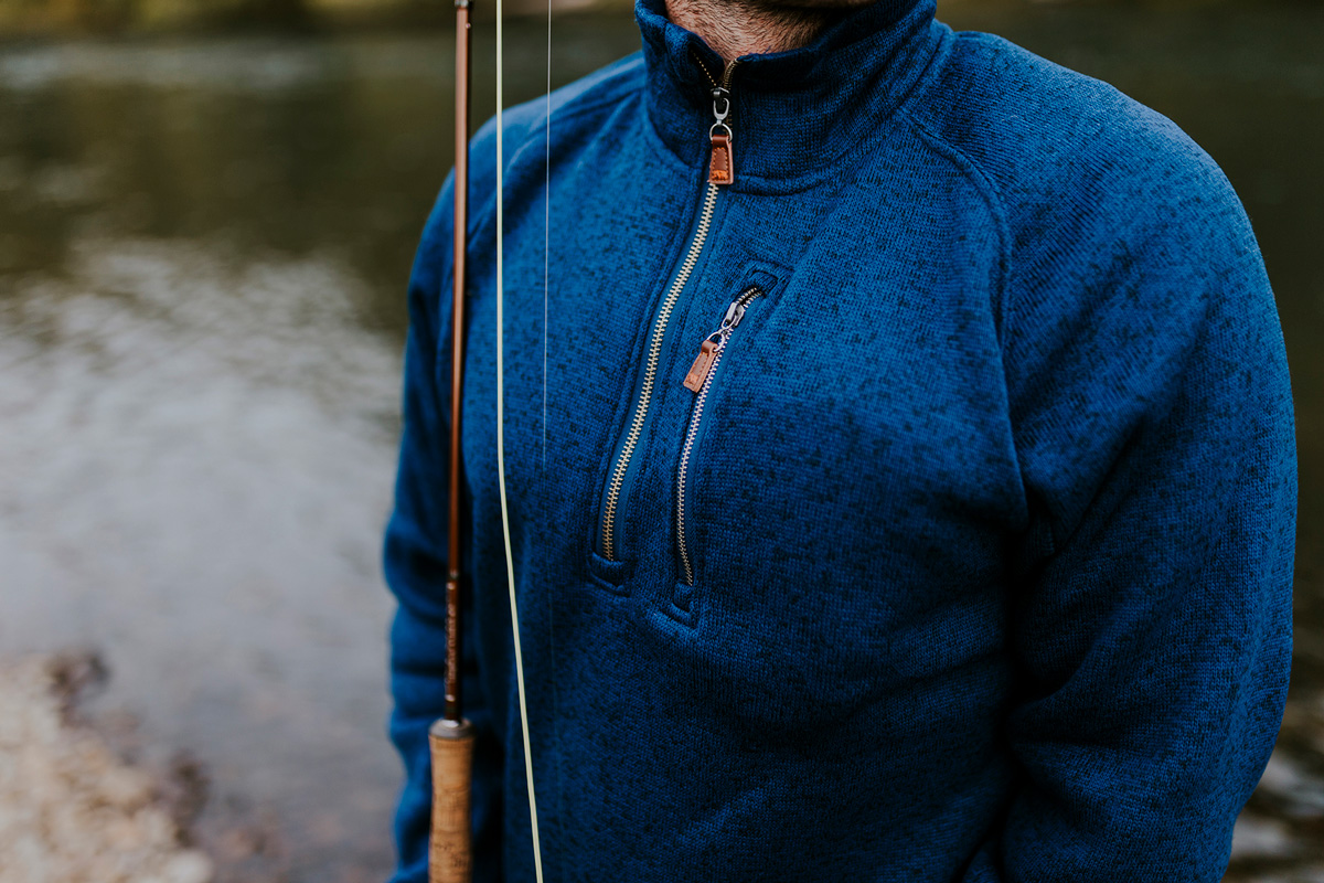 Products Featured:   Lincoln Quarter Zip
