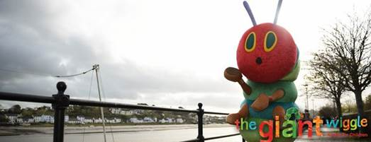 Giant Wiggle Very Hungry Caterpillar Brand Licensing