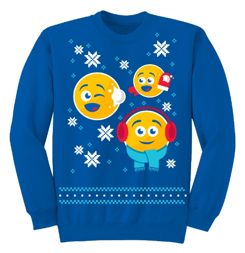 Pepsi Emoji Holiday Sweater