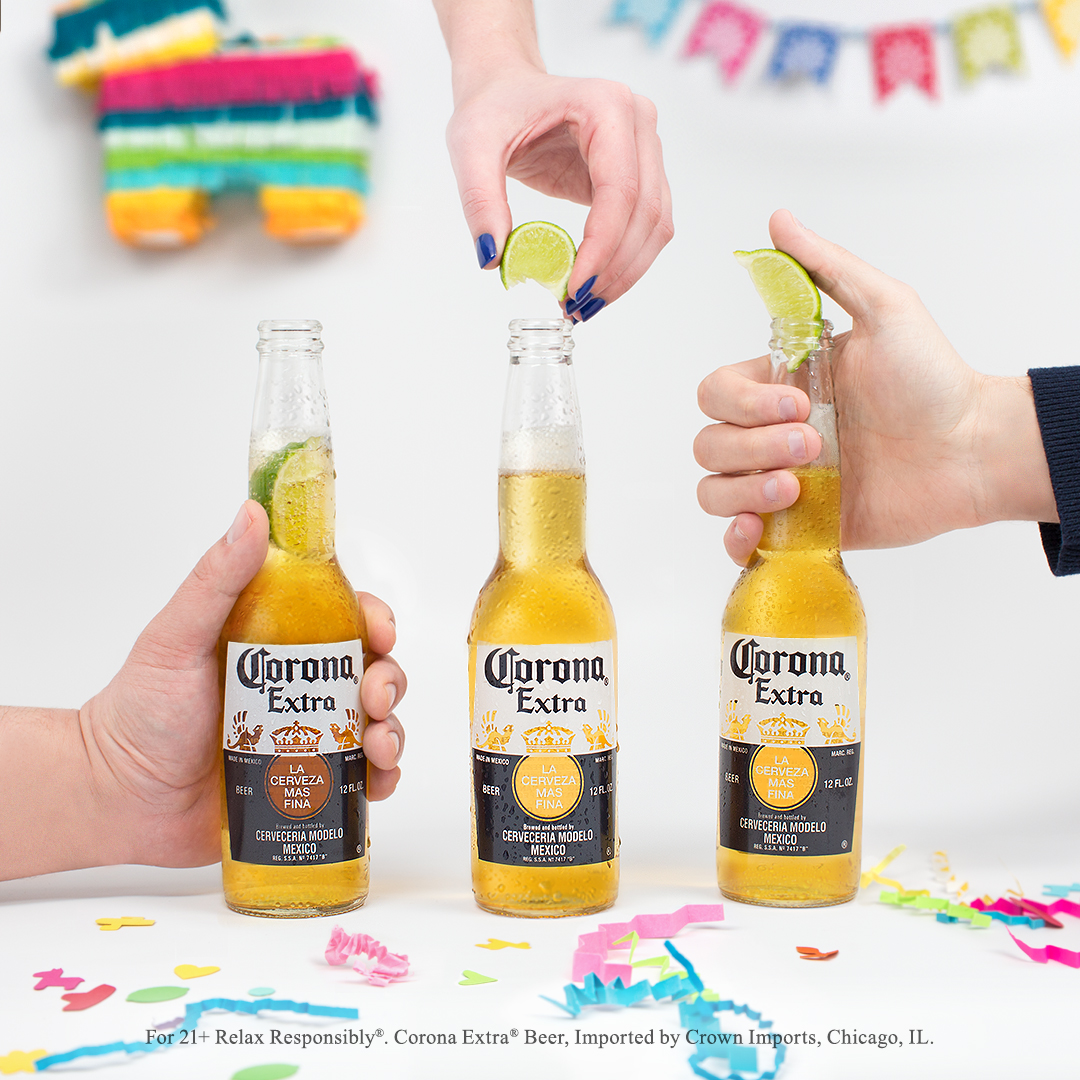 Lime Drop Corona Cinco de Mayo Marketing