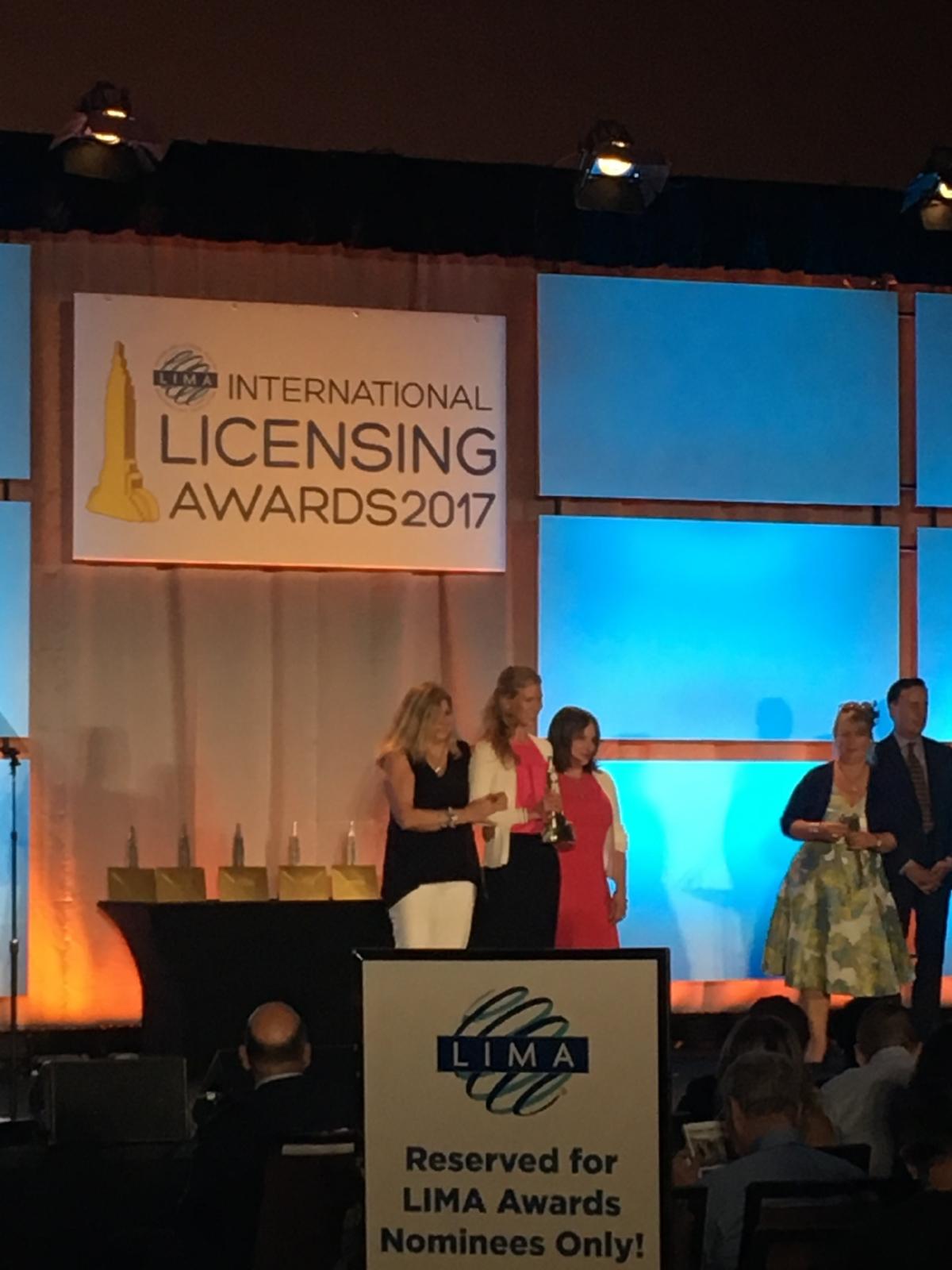 JLG LIMA Licensing Award Corona