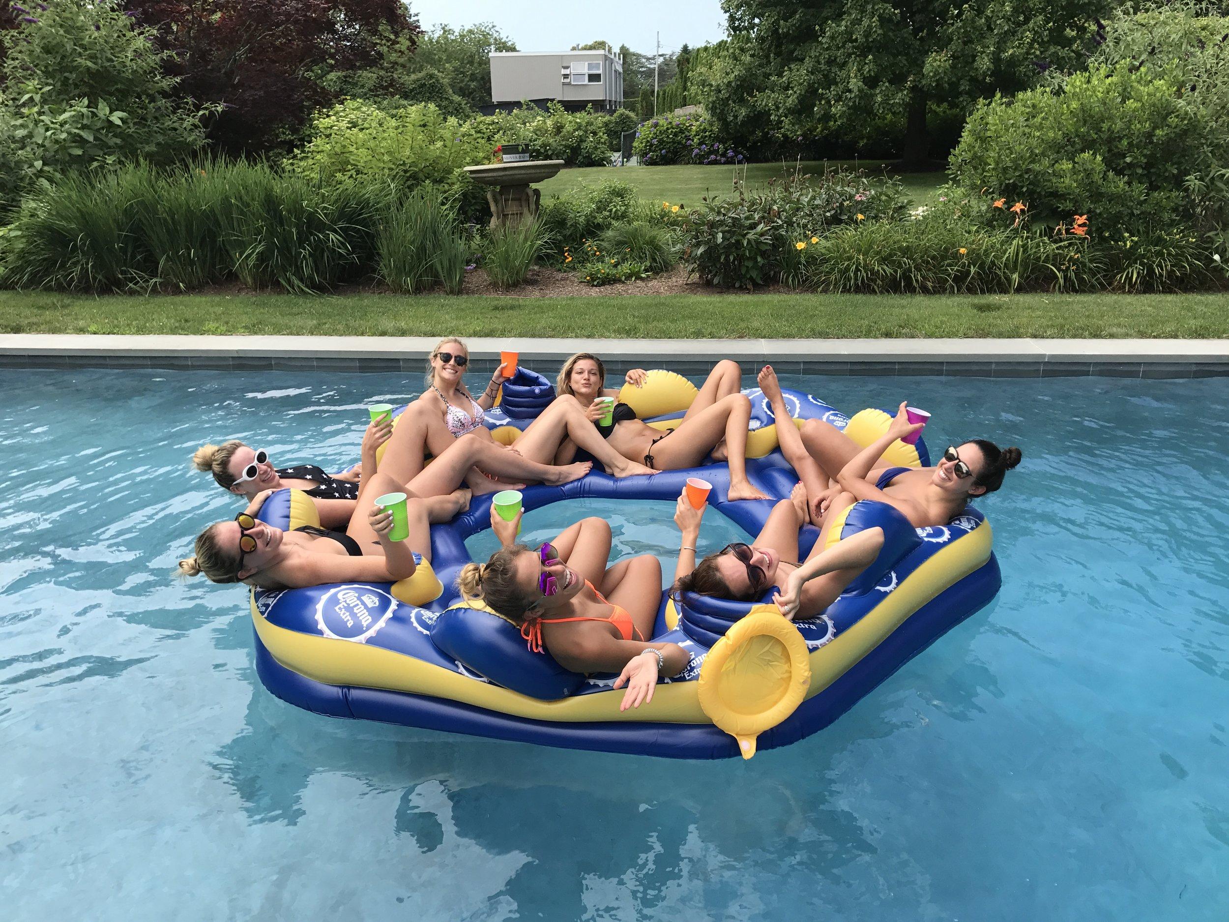 JLG Corona Summer Fun Pool Float