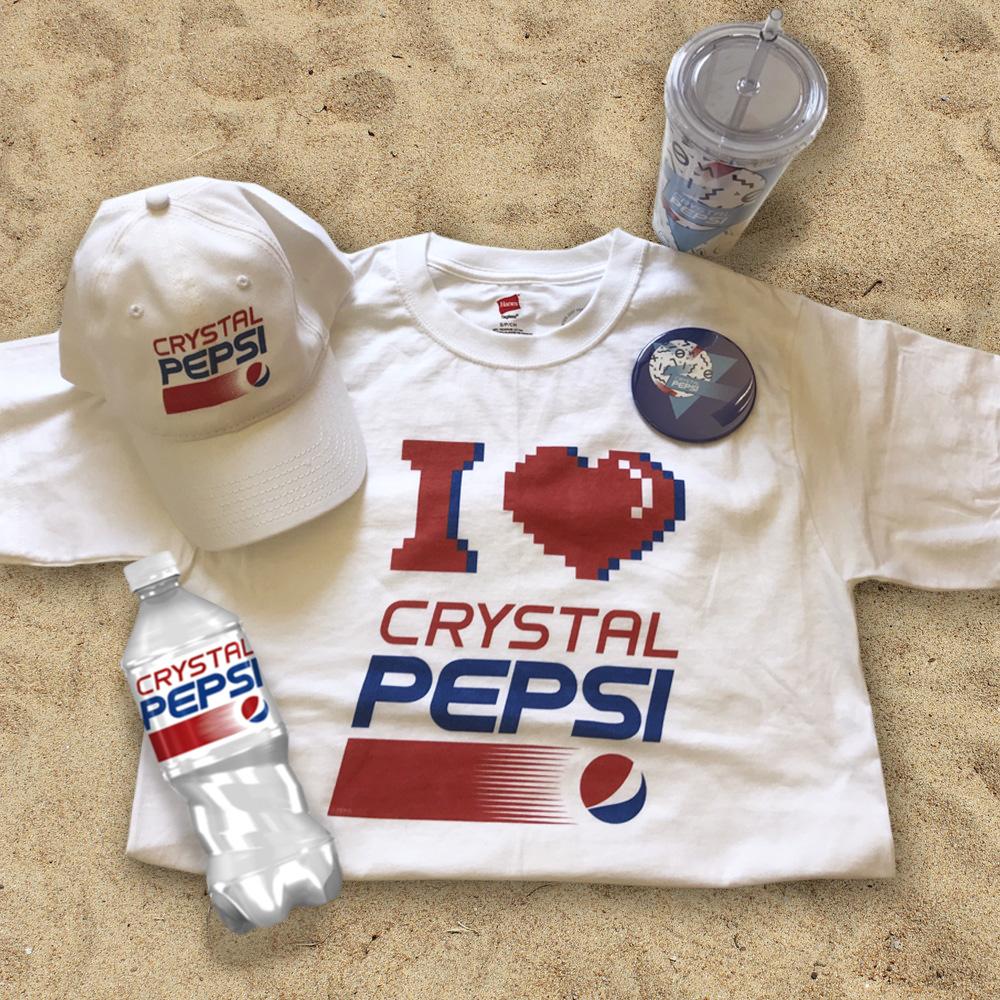 Crystal Pepsi Brand Licensing