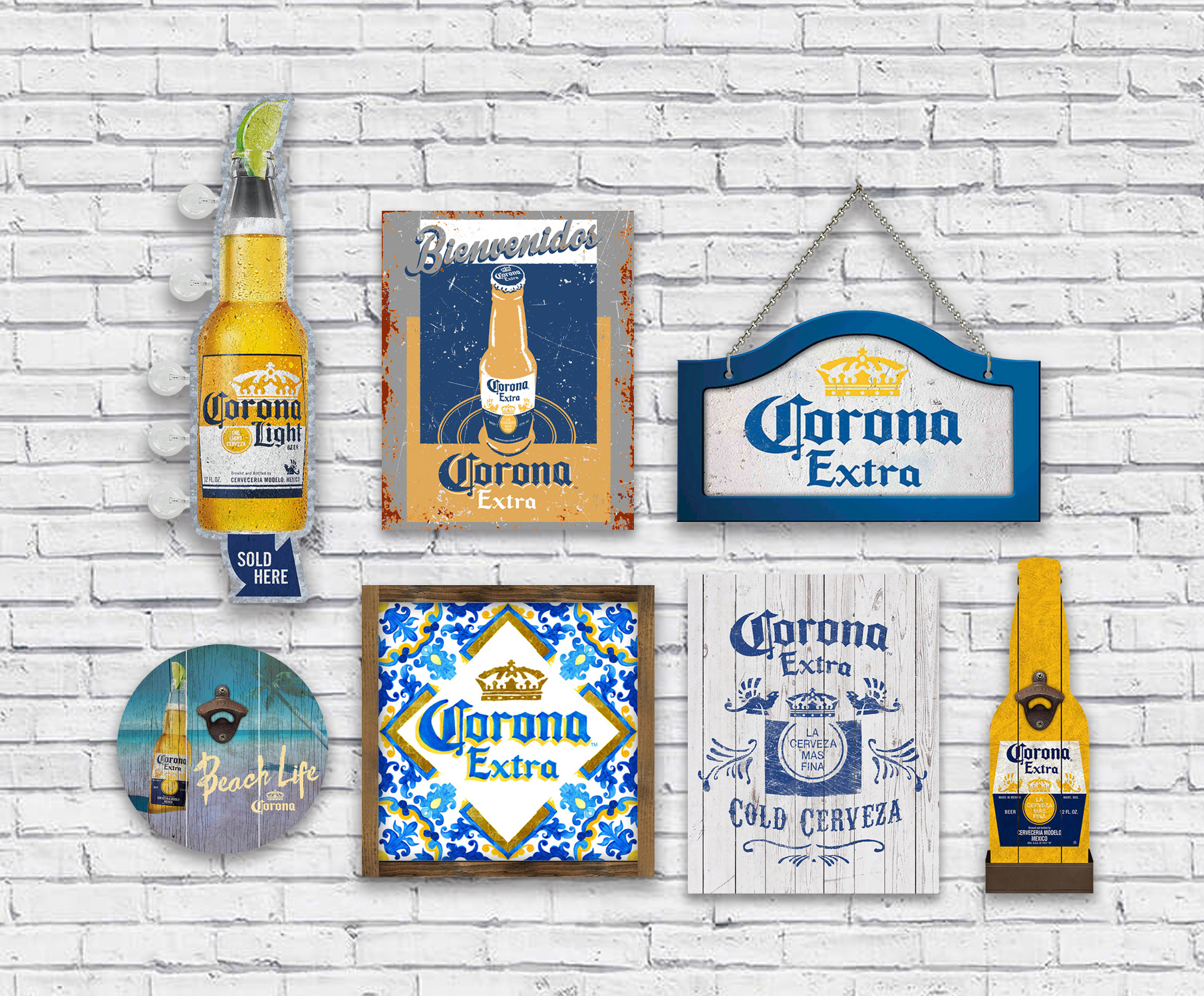Corona Sign of the Times Brand Licensing Agency